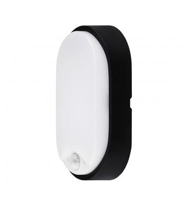MAX-LED oval bulkhead wall light 14W motion sensor neutral white