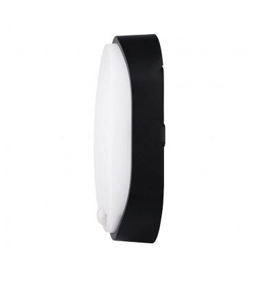 MAX-LED oval bulkhead wall light 14W motion sensor neutral white - side
