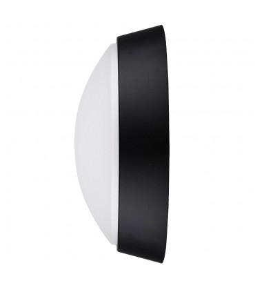 MAX-LED round bulkhead wall light 14W neutral white - side