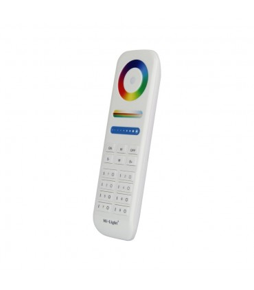 Mi-Light 8-zone RGB+CCT remote controller FUT089 - side