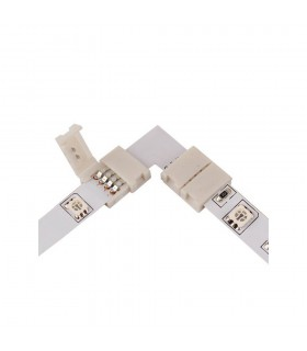 10mm RGB L type connector clip - connection