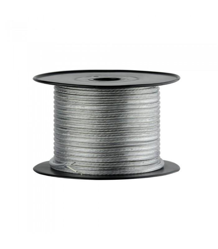 CET transparent 2-core 0.75mm² round flex cable