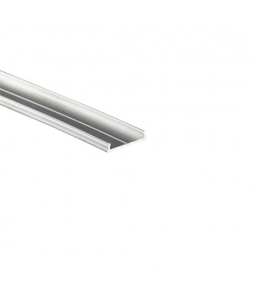 TOPMET raw aluminium LED profile FIX16 silver mounting channel
