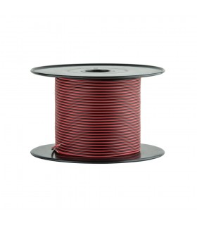 Single colour 2-core 0.35mm² LED strip light cable -