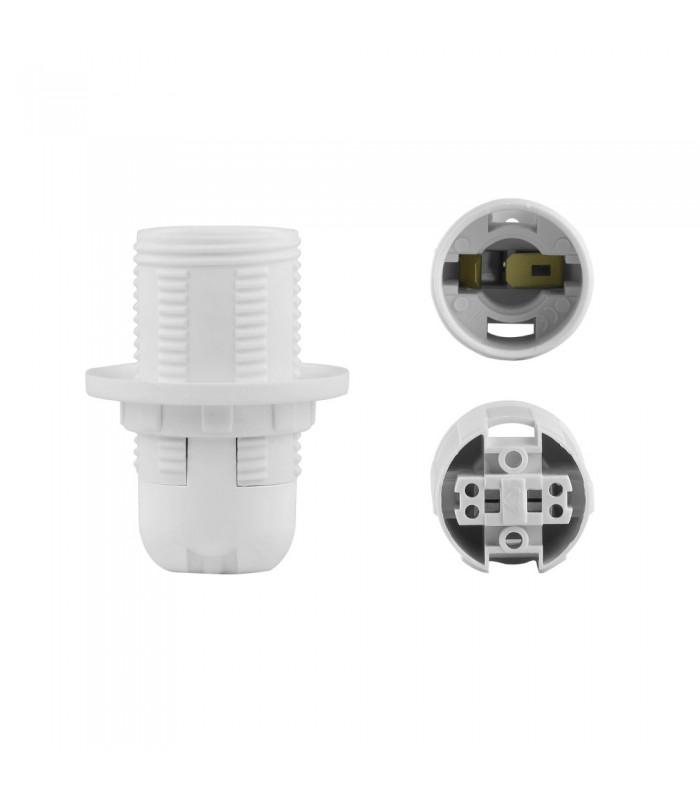 POLMARKE14 lamp holder with shade ring -