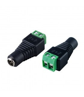2.1mm x 5.5mm female DC power connector -