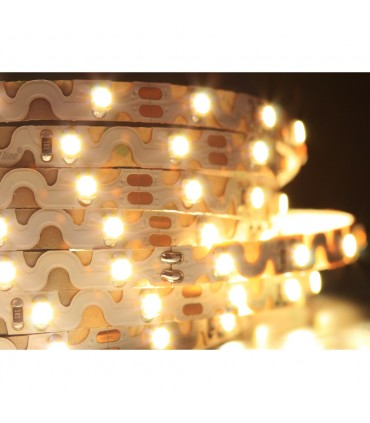 LED line® strip 300 SMD 3528 TWIST 12V neutral white IP20.The strip can be bent in any direction horizontally and verti