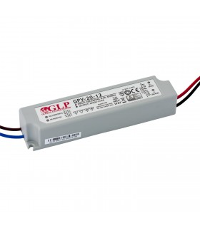 GLP waterproof constant voltage power supply 24W 12V 2A IP67 -