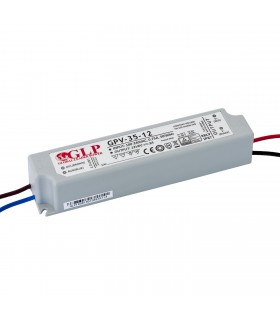 GLP waterproof constant voltage power supply 36W 12V 3A IP67 -