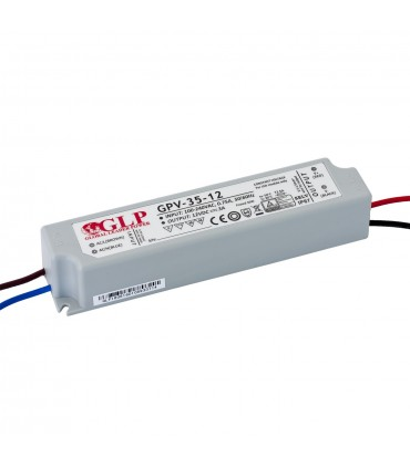 GLP waterproof constant voltage power supply 36W 12V 3A IP67