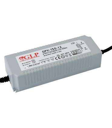 GLP waterproof constant voltage power supply 120W 12V 10A IP67