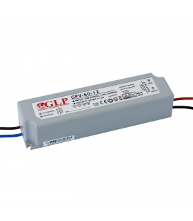 GLP waterproof constant  voltage  power supply 60W 12V 5A IP67 -
