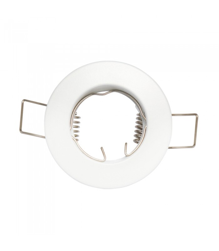 LED line® MR11 recessed ceiling downlight white.Fixed frame for halogen and LED bulbs with a diameter of 35mm. -