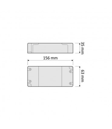 DESIGN LIGHT LED power supply STANDARD PLUS 12V 80W -