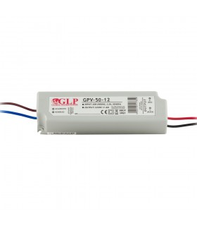 GLP waterproof constant  voltage  power supply 48W 12V 4A IP67 -