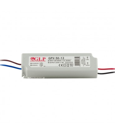 GLP waterproof constant voltage power supply 48W 12V 4A IP67