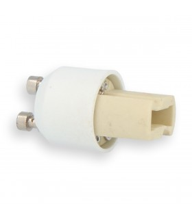 LED line® GU10-G9 lamp socket converter. Bulb adapter (adapter) GU10> G9 enables the use of a bulb with G9 thread (e
