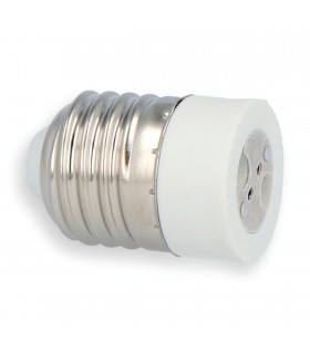 LED line® E27-MR16 lamp socket converter. Bulb adapter E27 to MR16 enables the use of a bulb with MR16 thread (eg LED bu