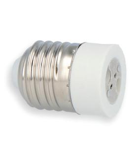 LED line® E27-MR16 lamp socket converter.Bulb adapter E27 to MR16 enables the use of a bulb with MR16 thread (eg LED bu