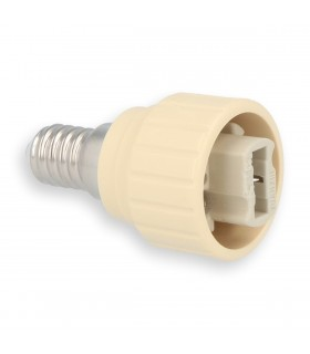 LED line® E14-G9 lamp socket converter. Bulb adapter (adapter) E14 to G9 enables the use of a bulb with G9 thread (eg LE