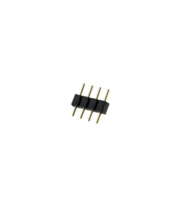RGB 4 pin male to male plug connector -