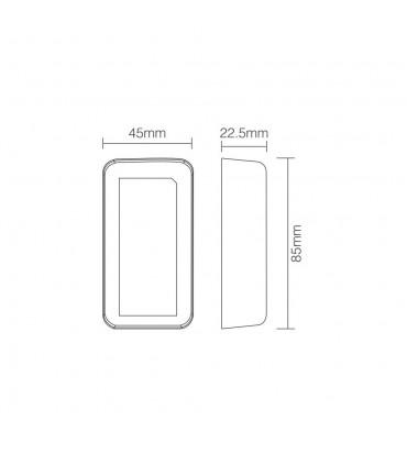 Mi-Light 4-zone colour temperature dual white LED strip controller FUT035 - size