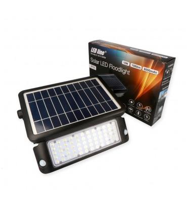 LED line® solar LED floodlight SMD 10W neutral white IP65