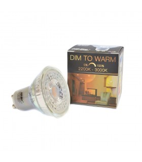 LED line® GU10 spotlight bulb 60° SMD 5,5W dimmable warm white -
