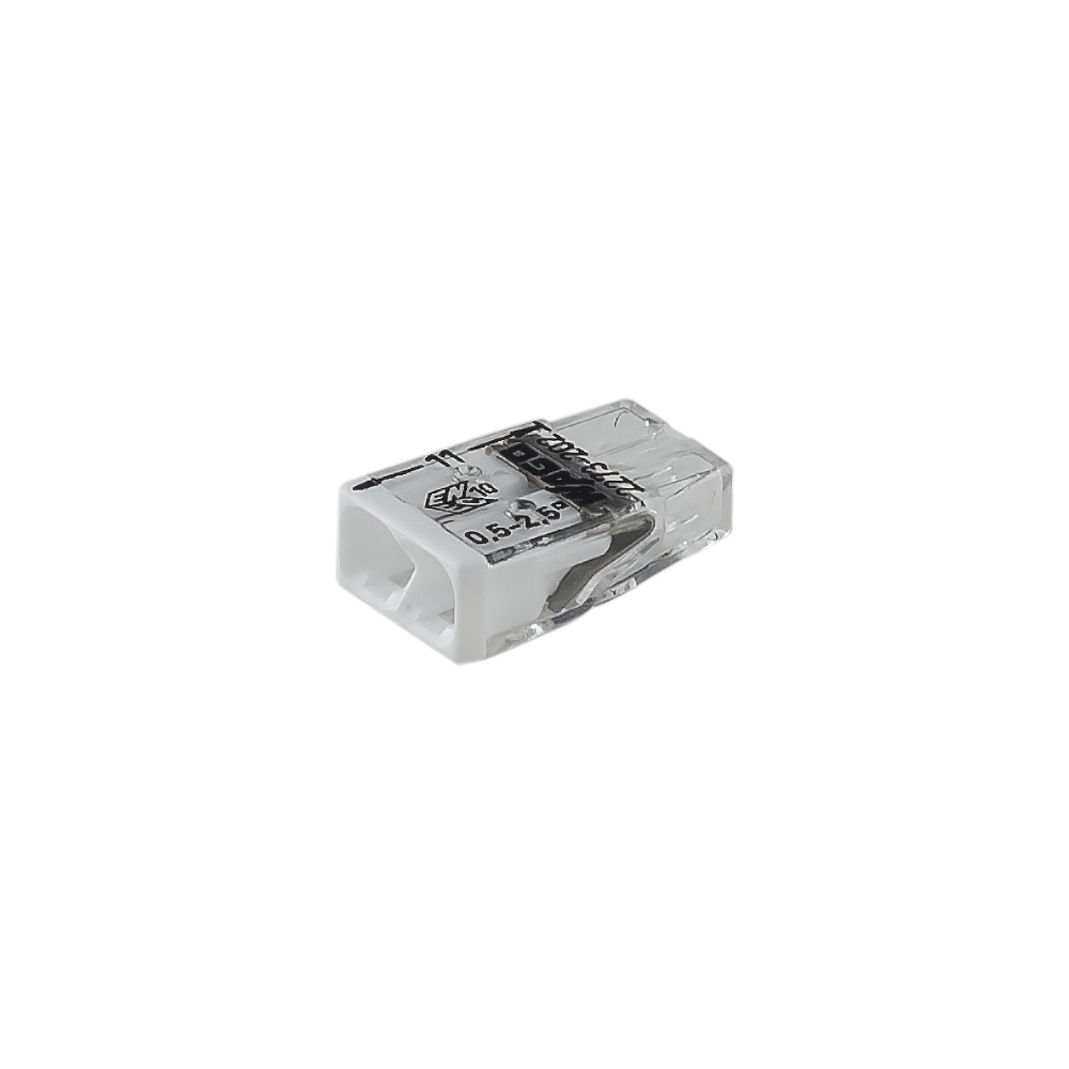 Wago 221 Series Compact Lever Connectors Connector 2 Wire 222 412 Terminal Block Cage Clamp 2273 202 Way Push