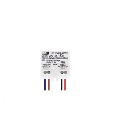 MW POWER MPL-06-12LC 6W 12V constant voltage power supply -