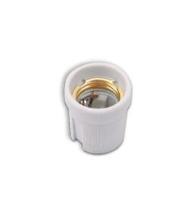 POLMARK E27 ceramic bulb holder white -
