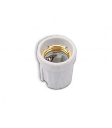 POLMARK E27 ceramic bulb holder white