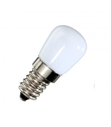 LEDOM E14 light bulb 230V 2W 130lm daylight 4000K.The small size (23 width x 50 length mm) allows for use in hoods, ref