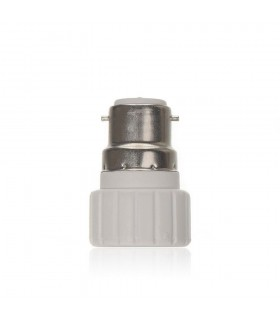 LED line® B22-GU10 lamp socket converter. Bulb adapter (adapter) B22> GU10 enables the use of a bulb with GU10 thread