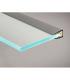 TOPMET anodised aluminium glass LED profile MIKRO10 silver application