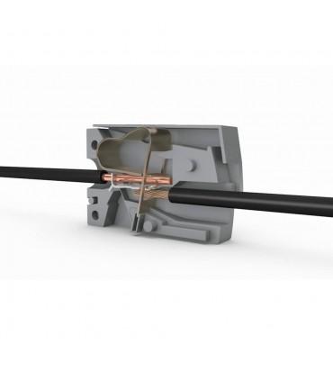 WAGO 224-101 2-way lighting connector.Lighting connector; Standard version; Continuous service temperature 105°C -