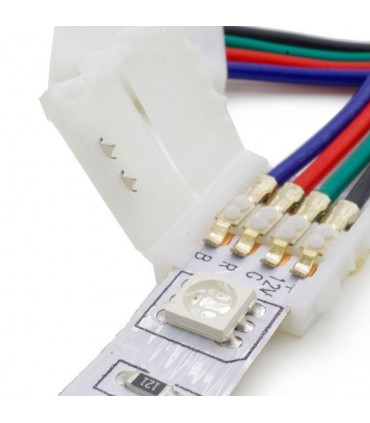 10mm RGB 4 pin PCB to PCB wire connector -