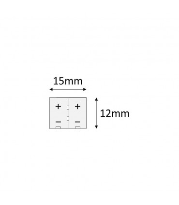 8mm single colour 2 pin PCB to PCB wire connector -