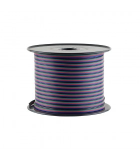 RGB 4-core 0.35mm² LED strip light cable