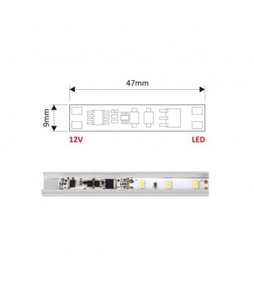 DESIGN LIGHT LED touch switch controller XC60 - application