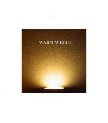 GU10 spotlight bulb warm white