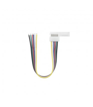 12mm RGB+CCT 6 pin wire connector -