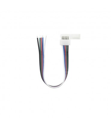 10mm RGBW 5 pin wire connector -