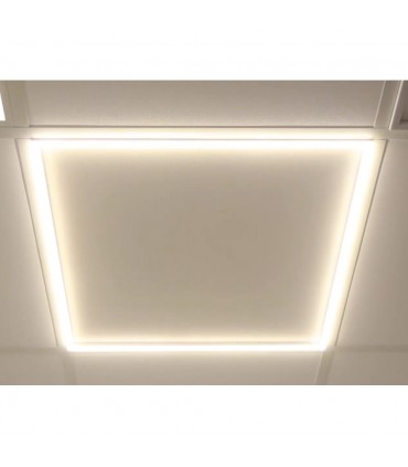 LED line® square frame panel 40W 3200lm SMD 59x59 neutral white.The innovative LED line ® panel is distinguished by its