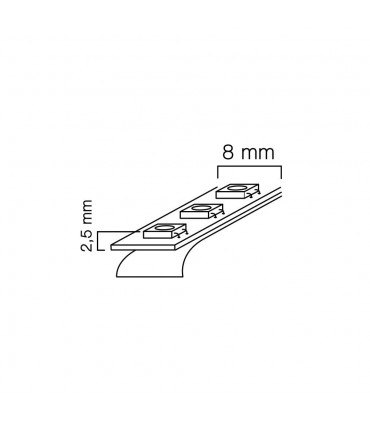 LED line® strip 600 SMD 2216 12V neutral white IP20.LED line® is a universal solution for lighting and decorating almos