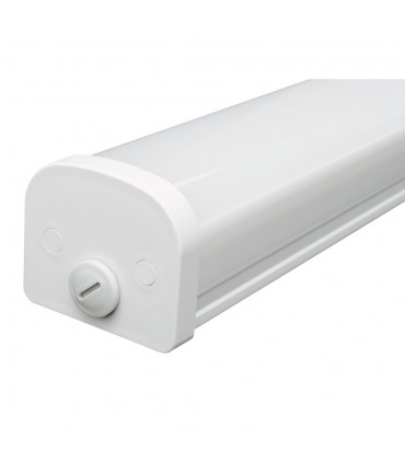 LED line® TRI-PROOF hermetic lamp IP65 40W 4000lm 175-265V AC 4000K white.Thanks to the hermetic luminaire with IP65 ti