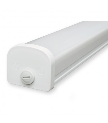 LED line® TRI-PROOF hermetic lamp IP65 20W 2000lm 175-265V AC neutral white.Thanks to the hermetic luminaire with IP65