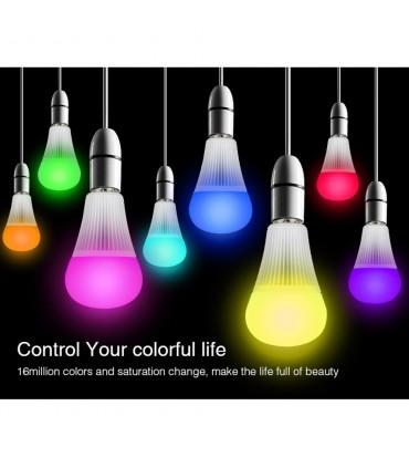 Mi-Light 9W RGB+CCT LED light bulb FUT012 - remote controlled