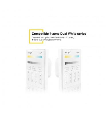 Mi-Light 4-zone CCT adjust smart panel remote controller T2 - compatibility