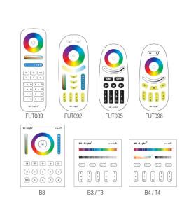 Mi-Light 4W GU10 RGB+CCT LED spotlight FUT103 - remotes